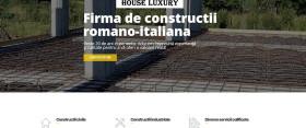 Site pentru firma de constructii