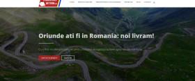Creare site pentru o firma de transport